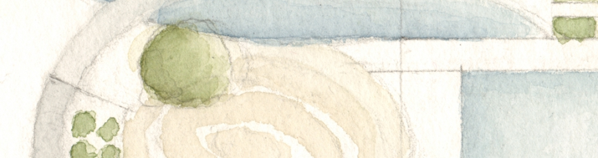 Aquarell-Detail