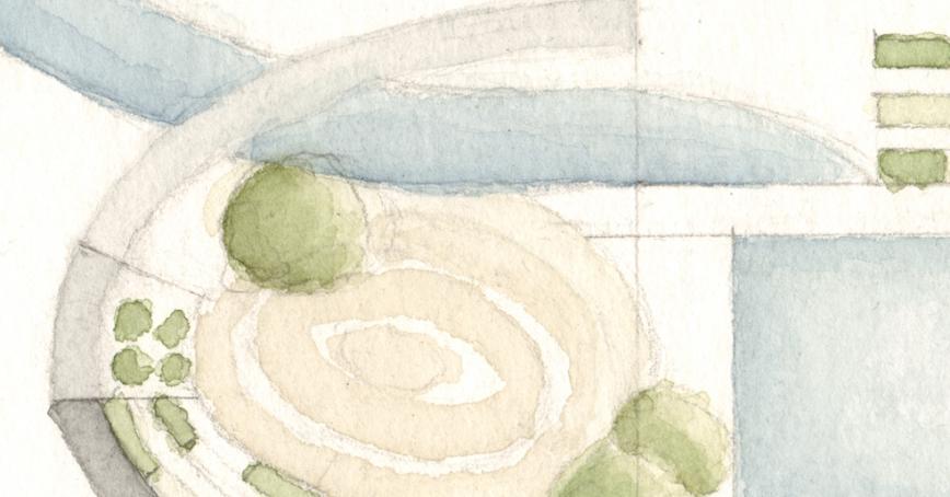 Aquarell-Detail