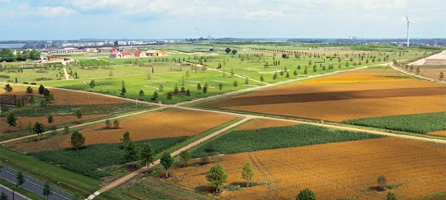 Parc Agricole Luftaufnahme